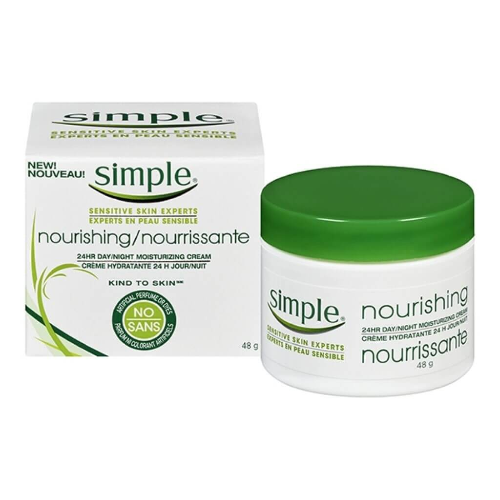 Kem dưỡng ẩm Simple Nourishing 24hr Day/Night