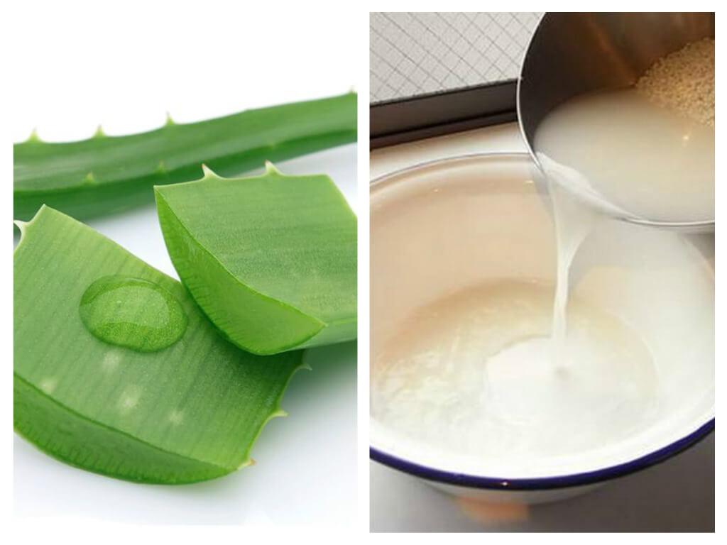 Cách làm sạch mụn bằng nước vo gạo