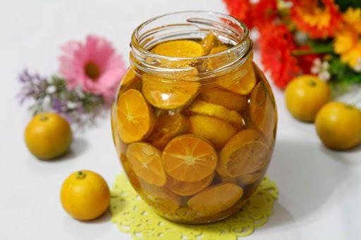 giảm cân hiệu quả bằng mật ong và quất