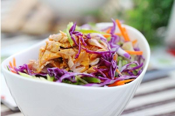 salad bắp cải giảm cân