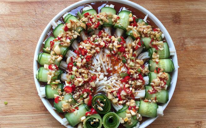 Cách làm salad dưa chuột giảm cân