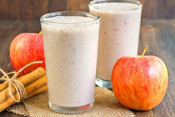 sinh tố táo giảm cân