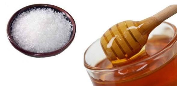tẩy tế bào chết bằng đường và mật ong