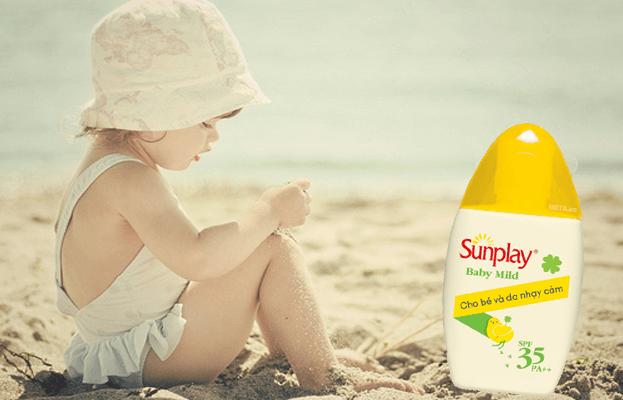 kem chống nắng cho bé sunplay