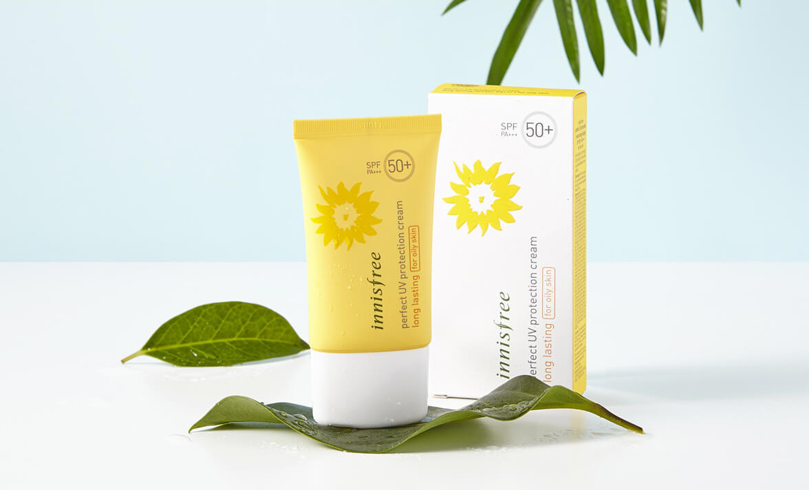 Kem chống nắng Innisfree Perfect UV Protection Cream Long Lasting For Oily Skin cho tuổi dậy thì
